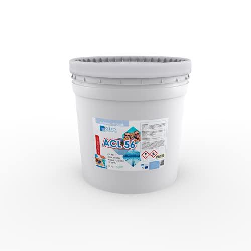 cubex professional Dicloro 56% Cloro granulare Pulizia igiene Manutenzione Acqua Piscina kg 10