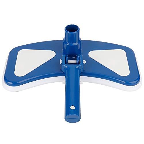 Fdit1 Attrezzi per Piscina da 12 '' Blu e Bianco con Testina aspirante orientabile per Piscina