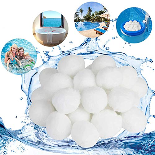 Filtranti per Piscine Ecologica per Filtri di Sabbia 1300g di Pulizia per Piscine Filtro Balls Pool Filtraggio Sand Filter 50kg di Quarzo qualità