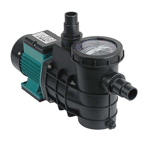 Forever Speed Pompa di Filtrazione Pompa da Piscina Pompa con Filtro per Circolazione 8000L/H