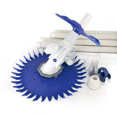 GRE 19007 - Pulitore automatico per piscine ad aspirazione professionale Vac, sistema a membrana, filtrazione minima richiesta 0,33 CV