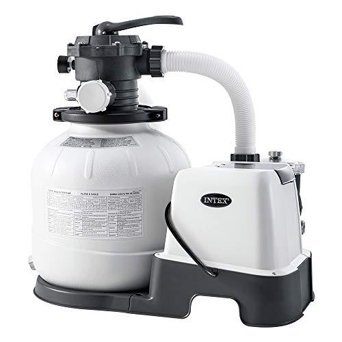 Intex 26676 Pompa a sabbia con sistema ECO per piscine fino a 32200 L