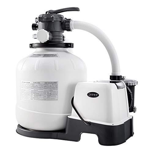Intex 26680 Pompa a sabbia con sistema ECO per piscine fino a 56800 L