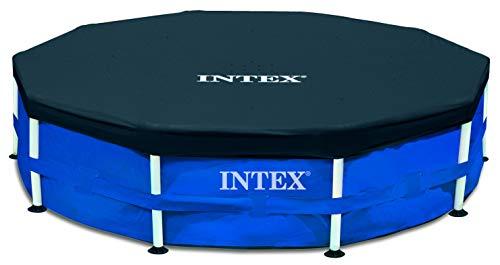Intex 28030 - Copertura di protezione per piscina tubolare, diametro 3,05 m