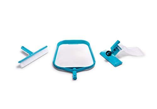 Intex 29056 Set di Pulizia Piscina, Azzurro, 34.29 x 47.62 x 9.52 cm