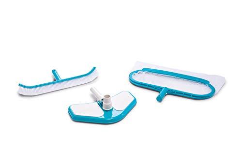 Intex 29057 Set Pulizia Deluxe Accessori per Piscine, Unica