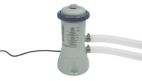 Intex 900GPH Pompa per cartuccia filtro (12V), Grigio, 18,8x 19,4x 35,4cm, 28638GS