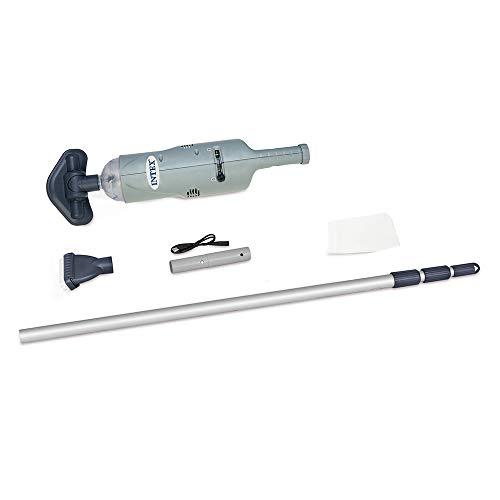 Intex Unterwasser Handstaubsauger 28620NP, Aspirapolvere per Piscina a Batteria, Grigio