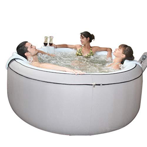 Jacuzzi Piscina gonfiabile per 4 people, con Bubble Spa Wellness Massaggio, funzione di riscaldamento e gonfiaggio, 700 litri