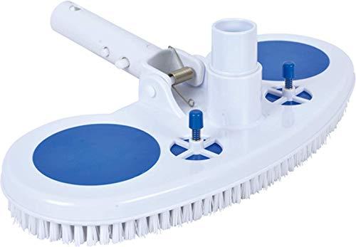 Jilong Accessori Spazzola Vacuum per Pulizia Piscina con Griglia di Protezione, Blu, 45x25x7 cm