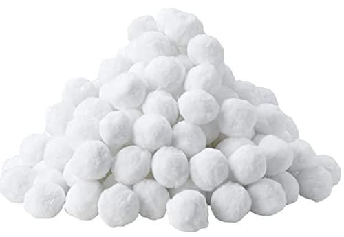 MVPower 700g Filtro Balls, Alternativa per Sabbia Filtrante da 25 kg, Sfere per Filtrazione a Sabbia per Piscine, Durevole Pool Filtraggio Sand Filter, Palline Filtranti per Piscina