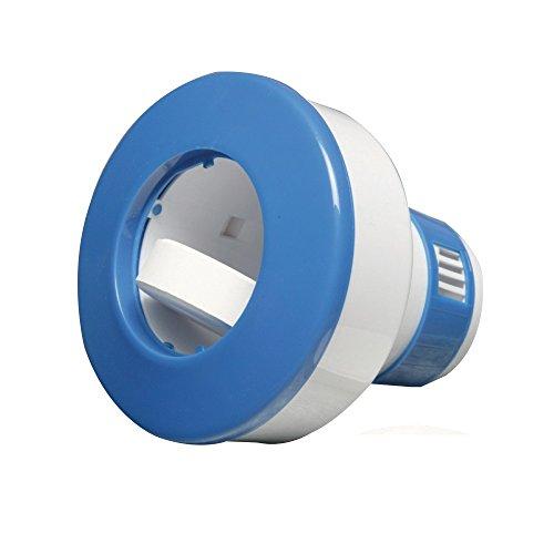 New Plast 4013 - Dispenser per pastiglie da 200 g di Cloro a flusso regolabile per Piscina