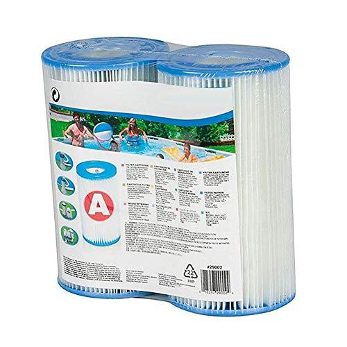 N/I Elemento Filtrante per Piscina, Adatto per Pompa Filtro per Piscina Tipo A O C Elemento Filtrante per Piscina (Bianco)