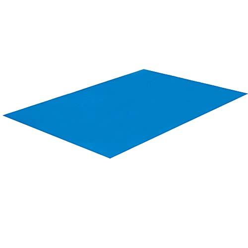 Rongchuang Tappeto per Piscina Fuori Terra Rettangolare - Tappetino da Pavimento Impermeabile Pieghevole per Piscina Gonfiabile Tappetino Facile, 500cm * 300cm