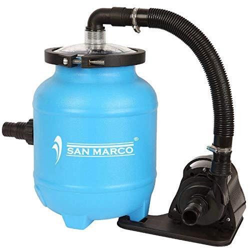 San Marco Filtro a Sabbia con aqualoon Senza valvola selettrice 4300 L/H