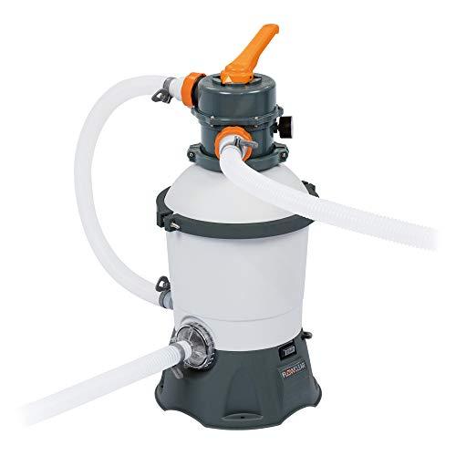 Sellnet Bestway Flowclear 58515 - Impianto filtrante a sabbia per la pulizia della piscina, 3.028 l/h