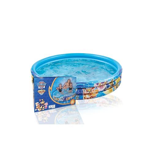 Smart Planet Piscina gonfiabile Paw Patrol – 150 x 25 cm – 3 anelli – Piscina per bambini – Piscina per bambini – Piscina – Piscina – Piscina gonfiabile