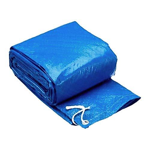 SUNERLORY Telo di copertura per piscina leggero, facile da usare, rettangolare e pulito. Protezione antipolvere. Parapioggia. Protezione per l'addensamento in poliestere, 260 x 160 cm