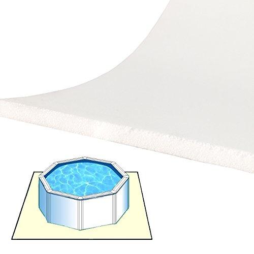 Zavattishop Tappeto materassino Morbido da Fondo 4 x 3 m per Piscina fuoriterra