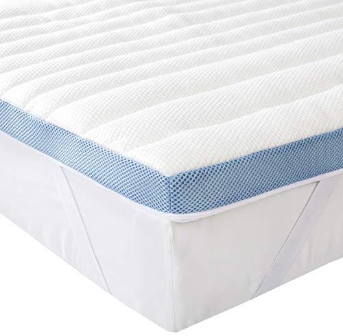 Amazon Basics 7-Zone-Air-Memory-Foam-Mattress-Topper - 140 x 190 cm