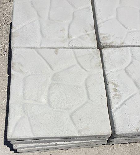 ARTISTICA GRANILLO Pavimento in Cemento, Base per OMBRELLONI 50X50 CM
