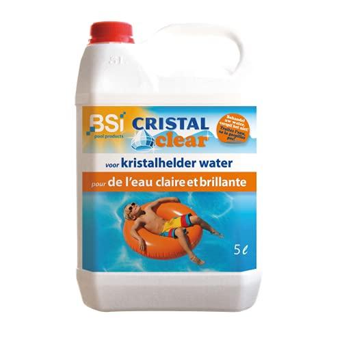 BSI Cristal Clear - Trattamento Anti alghe per Piscina, 5 L