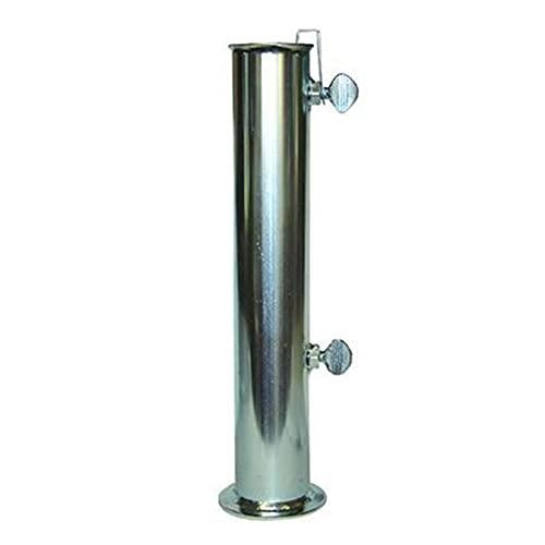 CDF EuroStore07® Tubo in Ferro ZINCATO - ø mm.55 per Base OMBRELLONE in Cemento FER 314411 Tubo in Ferro ZINCATO - ø mm.55 per Base OMBRELLONE in Cemento