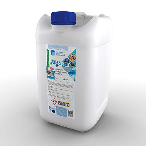 cubex professional Antialghe kg10 - antialga igienizzante schiarente azzurrante Non schiumogeno per Pulizia Acqua Piscina e Spa