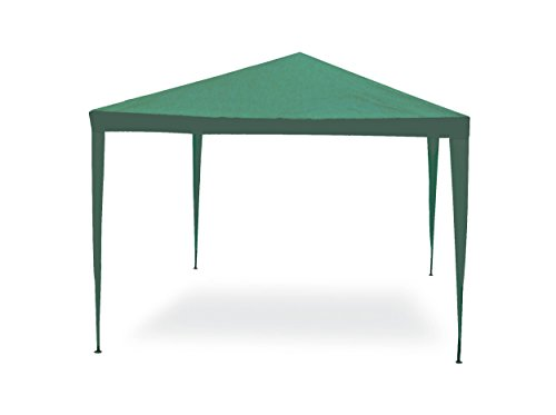 GARDEN FRIEND, Gazebo facile verde 3x2 m Struttura in acciaio copertura in pe. 110 gr/m².