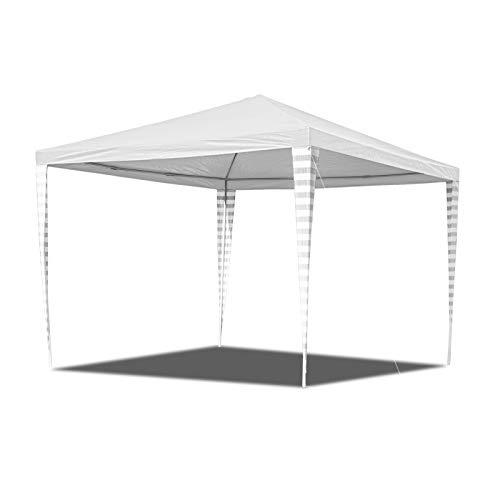 Hengda Gazebo 3x3m impermeabile Padiglione da giardino stabile e di alta qualità senza pannelli laterali Protezione dai raggi UV del tendone per matrimoni per il mercato dei matrimoni in campeggio