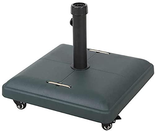 Import Base per OMBRELLONE in Cemento con Ruote 35 kg