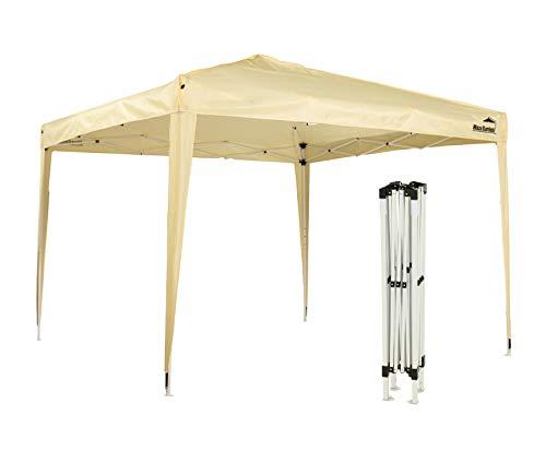 MaxxGarden - Gazebo pieghevole impermeabile, pieghevole, 3 x 3 m, gazebo da giardino, gazebo pieghevole