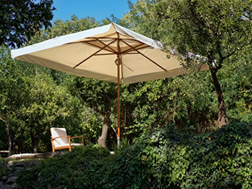 My Garden Oasis Ombrellone da Giardino, 3 x 4 Metri, Beige