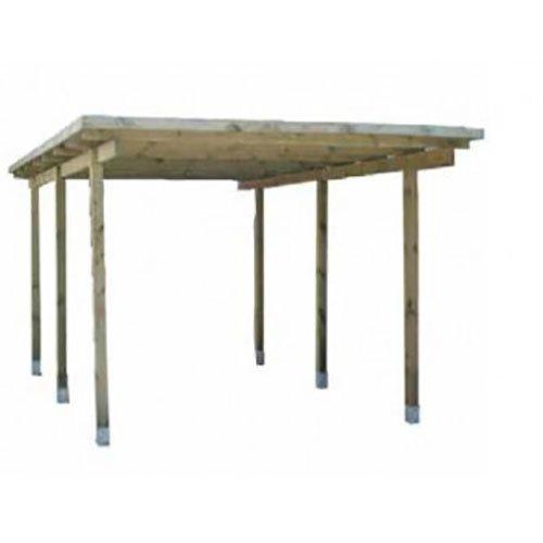Pergola, tettoia, carport in legno per rimessa auto