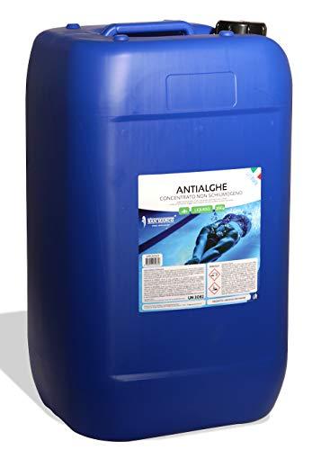 San Marco Antialghe Liquido da 25 kg concentrato Professionale Non schiumogeno per Piscina