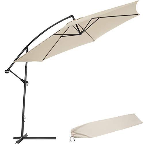 TecTake - Ombrellone parasole da giardino (3,5M.) con protezione UV